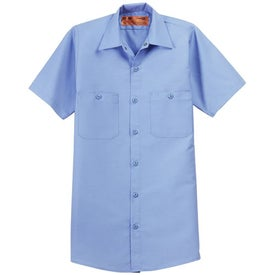 Red Kap Short Sleeve Industrial Work Shirt (Men's)