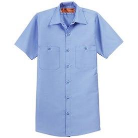 Red Kap Short Sleeve Industrial Work Shirt