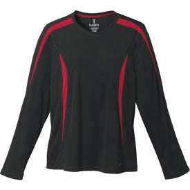 Kemah Long Sleeve Tech Tee by TRIMARK for Advertising