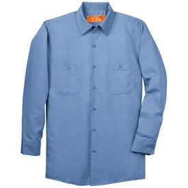 Red Kap Long Sleeve Industrial Work Shirt