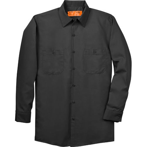 Cornerstone long sleeve industrial work shirt 50 50 for Personalized long sleeve t shirts
