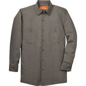Custom Cornerstone Long Sleeve Industrial Work Shirt