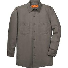 Custom Cornerstone Long Sleeve Industrial Work Shirt