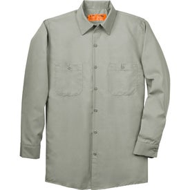Cornerstone Long Sleeve Industrial Work Shirt for Promotion