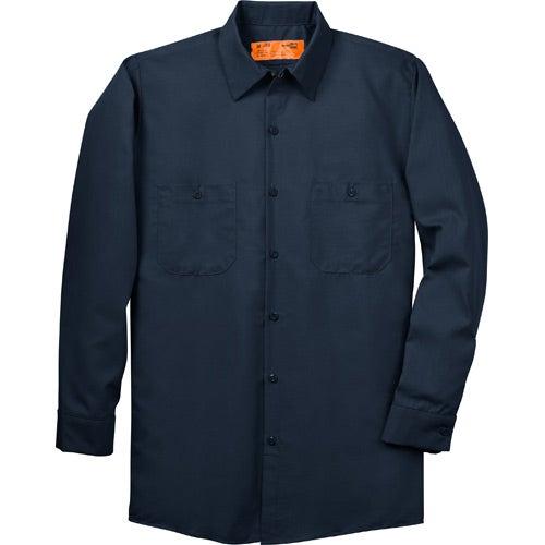 cornerstone long sleeve industrial work shirt 50 50