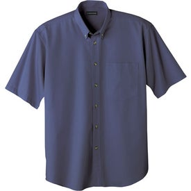 Monogrammed Matson Short Sleeve Dress Shirt by TRIMARK