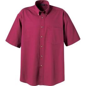 Branded Matson Short Sleeve Dress Shirt by TRIMARK