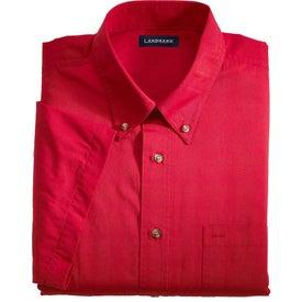 Printed Matson Short Sleeve Dress Shirt by TRIMARK