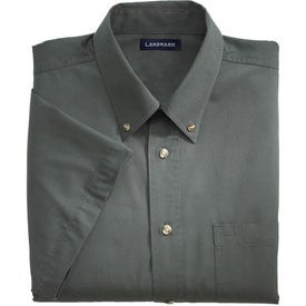 Matson Short Sleeve Dress Shirt by TRIMARK with Your Logo