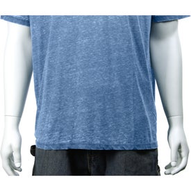 Burnout Jersey Short Sleeve Tee by TRIMARK for Marketing