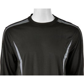 Branded Kemah Long Sleeve Tech Tee by TRIMARK