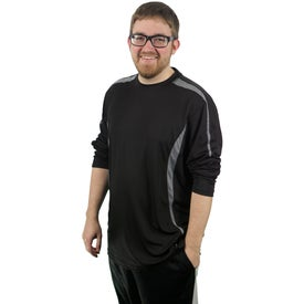 Kemah Long Sleeve Tech Tee by TRIMARK for Your Company