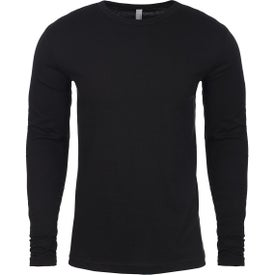 Next Level Cotton Long-Sleeve Crew T-Shirts (Men''s)