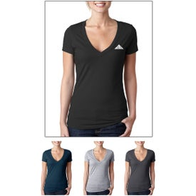 Next Level CVC Deep V T-Shirt (Colors)