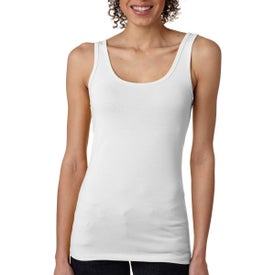 Next Level Jersey Tank Top (White)