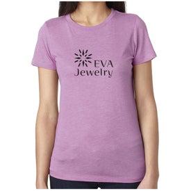 Next Level Ladies' Tri-Blend Crew T-Shirt (Colors)