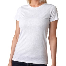 Next Level Ladies' Tri-Blend Crew T-Shirt (White)