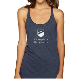 Next Level Ladies' Tri-Blend Racerback Tank Top (Colors)