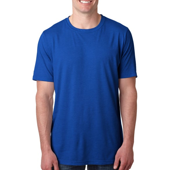 Royal Next Level Poly Cotton Crew T-Shirt