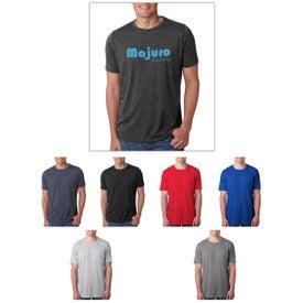 Next Level Men's Poly Cotton Crew T-Shirt (Colors)