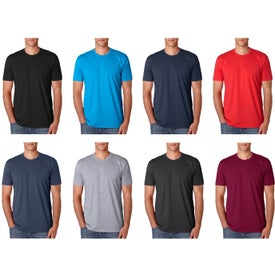 Next Level Men's Premium CVC Crew T-Shirt (Colors)