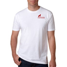 Next Level Men's Premium CVC Crew T-Shirt (White)