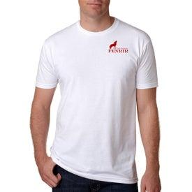 Next Level Men's Premium CVC Crew T-Shirt (White)