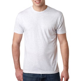 Next Level Men's Triblend Crew T-Shirt (White)