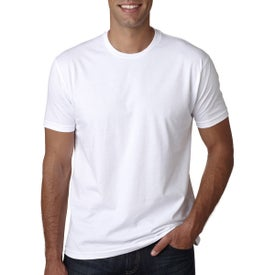 Next Level Premium Fitted Short-Sleeve Crew T-Shirt (White)