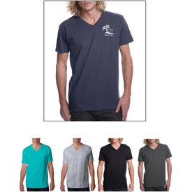 Next Level Premium Fitted Short-Sleeve V T-Shirt
