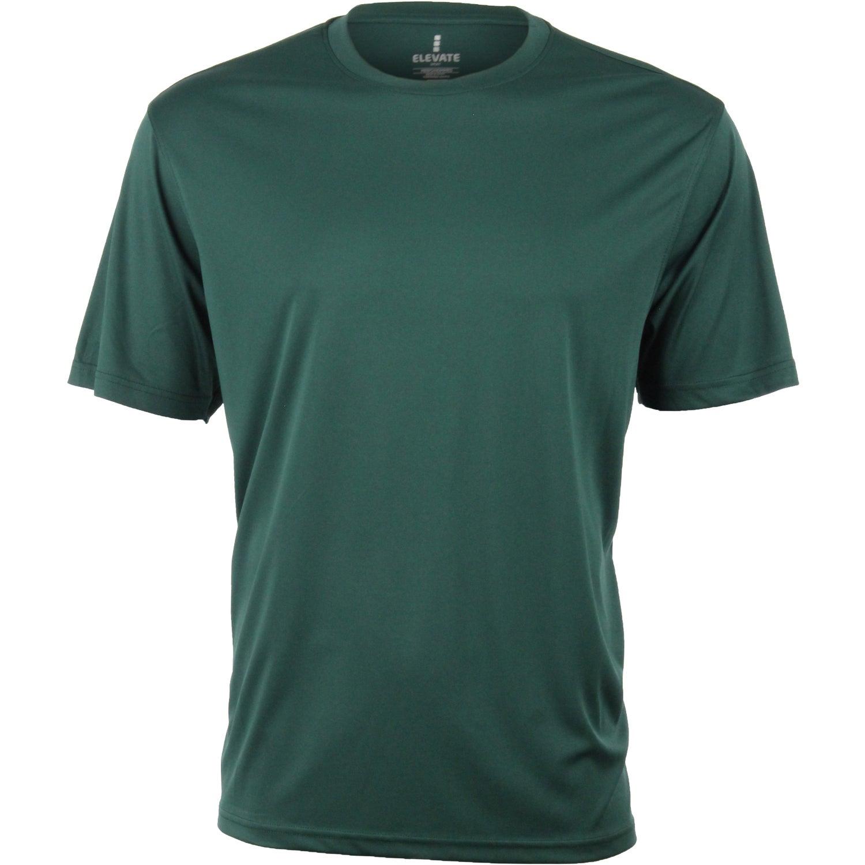 omi short sleeve tech tee shirt by trimark men 39 s 50 50 On tech t shirts custom