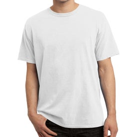 Port and Company Pigment-Dyed Tees (Men''s, White)
