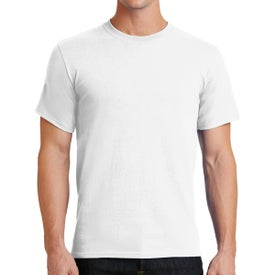 Port & Company Essential T-Shirts (Men''s, White)