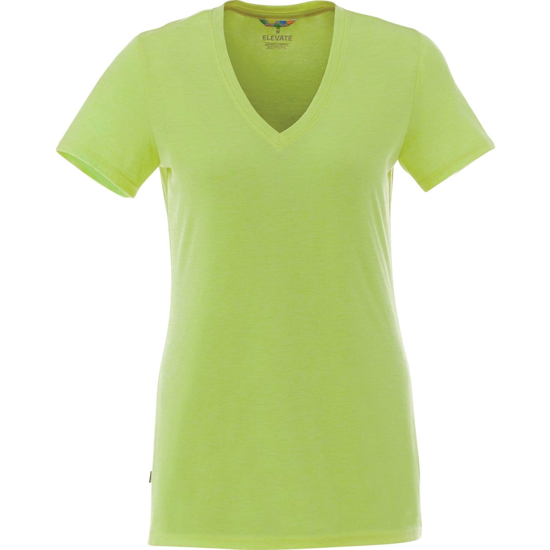 Promotional Womens Sarek V Neck Short Sleeve Tee Shirt By Trimarks