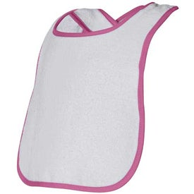 Toddler Playwear Bib Branded with Your Logo
