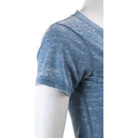 Burnout Jersey Short Sleeve Tee by TRIMARK Branded with Your Logo