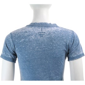 Personalized Burnout Jersey Short Sleeve Tee by TRIMARK