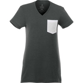 Monroe Short Sleeve Pocket Tees by TRIMARK (Women''s)