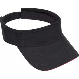 Brushed Bull Denim Sandwich Visor