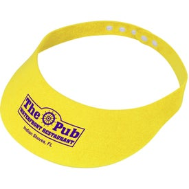 Adjustable Foam Visor Giveaways