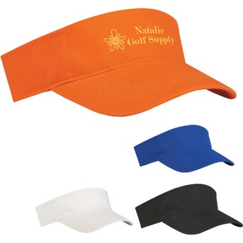 12e8f2b835c48 CLICK HERE to Order Budget Saver Non-Woven Visors Printed with Your ...