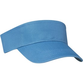 Cotton Twill Visor for Your Church