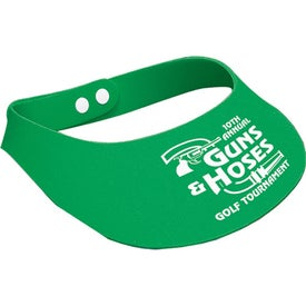 Advertising Crushable Foam Visor