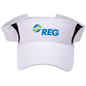 Pro-Style Cotton Twill Visor for Marketing