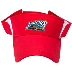 Pro-Style Cotton Twill Visor with Your Slogan