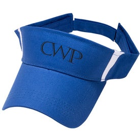 Printed Pro-Style Cotton Twill Visor