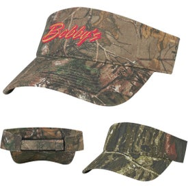 Realtree And Mossy Oak Camouflage Visor