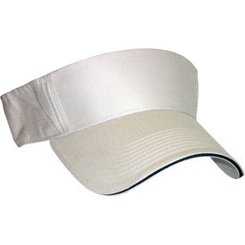 Sandwich Visor with Your Slogan