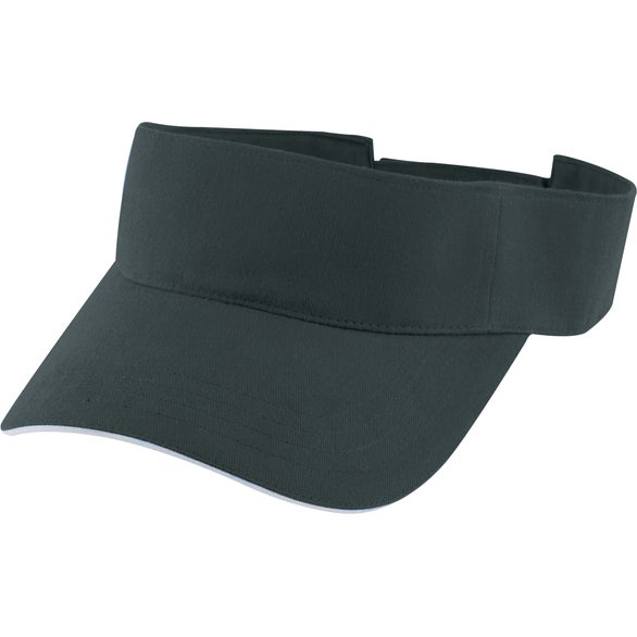 Promotional sport sandwich sun visors with custom logo for 474 ea black sport sandwich sun visor ccuart Images