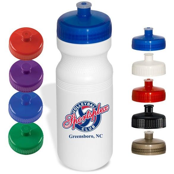 Promotional 24 oz custom water bottles with custom logo for Create custom water bottles